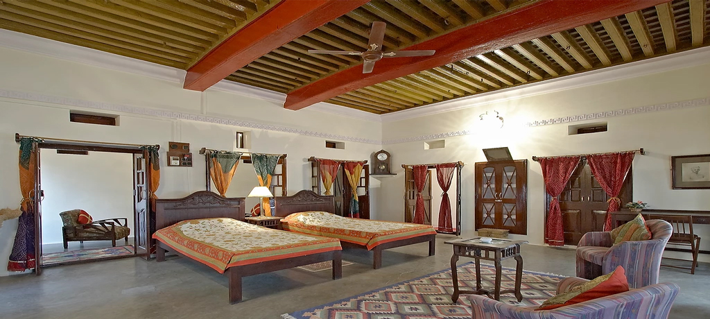 Nimaj Palace Twing Bed Room
