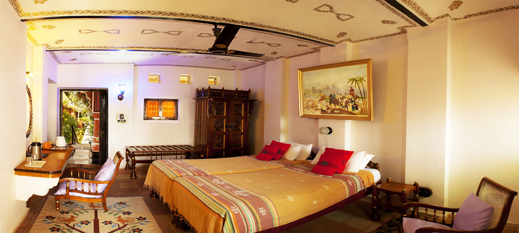 Orchha Resort room