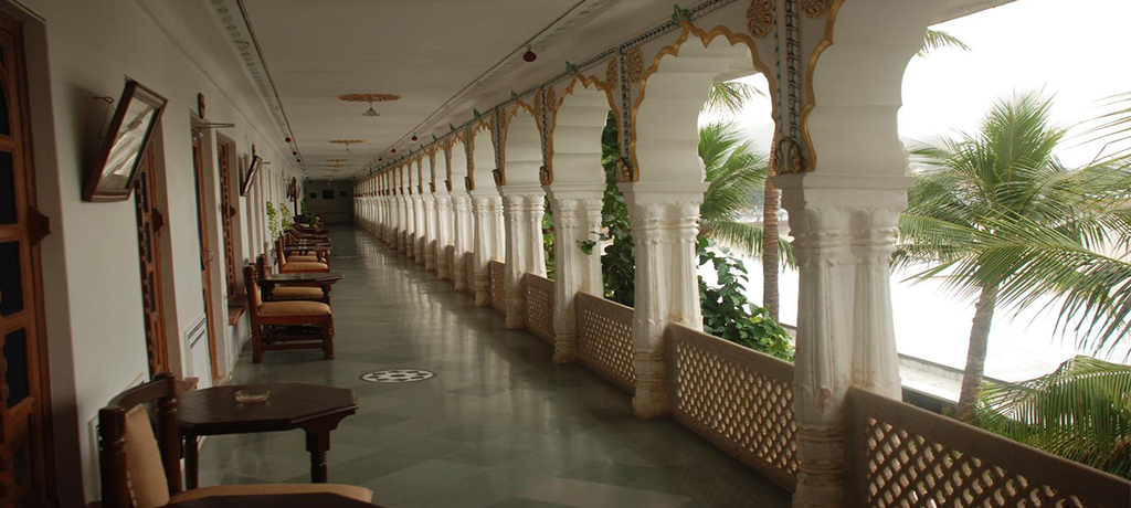Pushkar Palace Setting Area