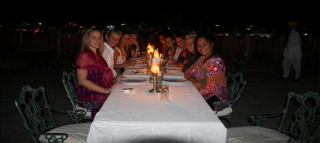 Pushkar Palace Tarace Dinner