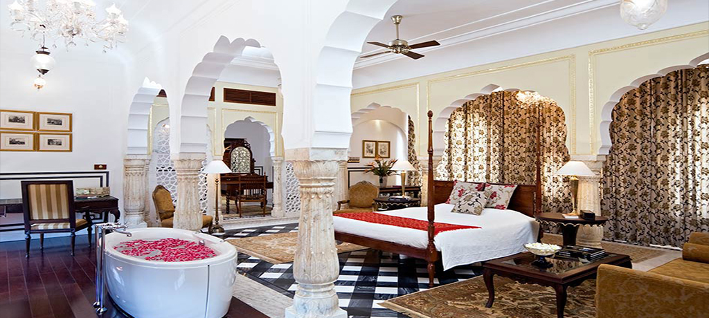 Samode Palace accommodation