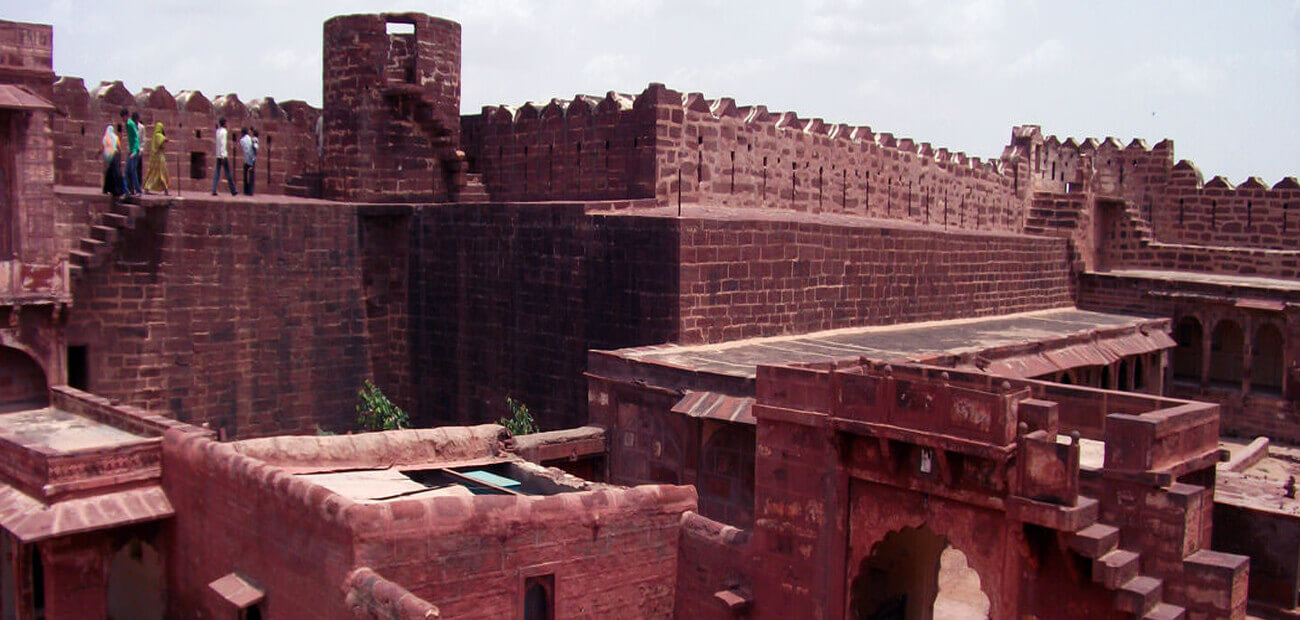 Fort and Palaces