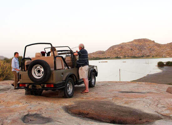 explore the villages in jeep